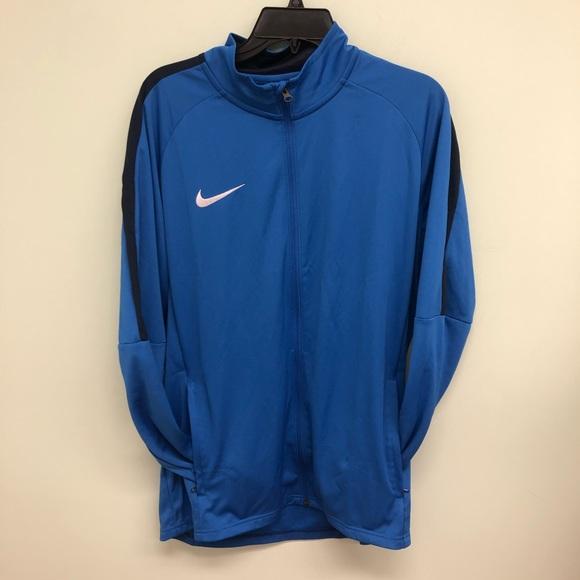 Nike   Men's Blue Long Sleeve Sweater   Size L